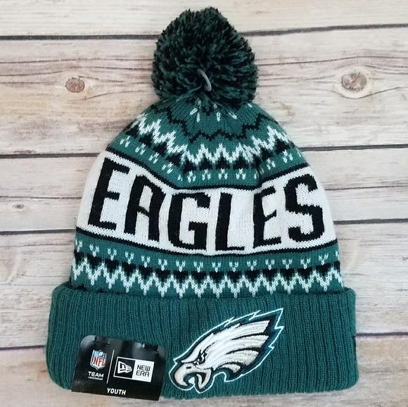 Philadelphia Eagles beanie hat 953933e79